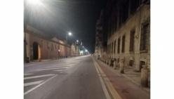 """Nuova luce sullo Stradone Farnese. Marco Tassi: """"Viale più bello e sicuro"""""""