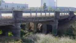 Ponte sul Rigosa Nuova a Fontanelle: 30km/ora e mezzi fino a 44t