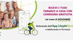 Parma d'intesa con il Comune di Parma, a novembre, consegna gratuita a domicilio di farmaci e parafarmaci, per tutti, con le tre LloydsFarmacia del territorio