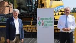 Demo Frumento in campo: con il Consorzio agrario