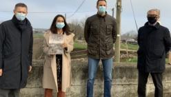 Bocca d'Enza in sicurezza grazie al Consorzio di Bonifica Parmense: video interviste all'avvio dei lavori