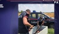 Furto in una abitazione di Sorbolo-Mezzani, i carabinieri recuperano le numerose armi, regolarmente detenute.