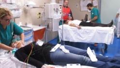 Maxi intossicazione da ammoniaca: prove d'emergenza all'Ospedale di Vaio