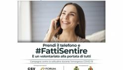#fattisentire - Parte da Parma la campagna di sensibilizzazione per spingere le persone a contattare chi, in questa emergenza, vive in solitudine.