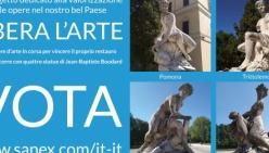 """""""Libera l'arte"""": si vota per restaurare le sculture del Parco Ducale di Parma"""