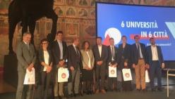 """Leonardo Spadi e Chiara Vernizzi a Padova per """"Parma Città Universitaria"""""""