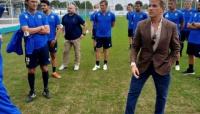 Il neo presidente Kyle Krause in visita al settore giovanile del Parma