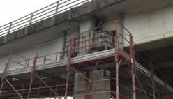 Sul Ponte Verdi si continua a lavorare con impegno e sicurezza