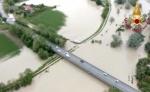 Esondato il fiume Savio in provincia di Forlì Cesena